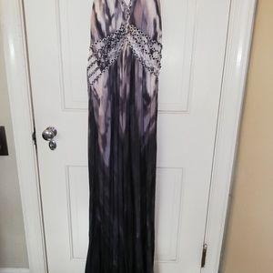 Vanity halter dress